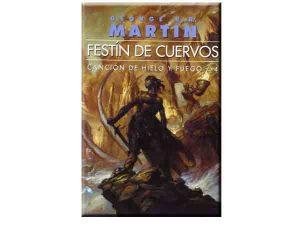 Libro orden de lectura 4 de Juego de Tronos Festín de Cuervos