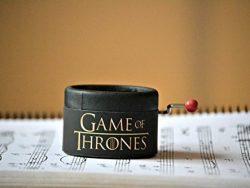 Caja de música pequeña redonda