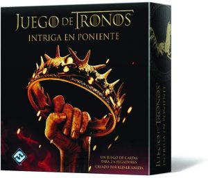 Fantasy Flight, Intriga en Poniente. Juego de cartas