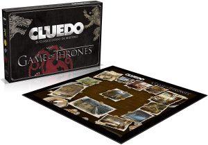 Juegos de Juego de Tronos, Cluedo en Español, tablero desplegado