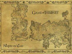Mapa antiguo de los 7 Reinos