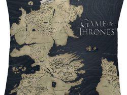 Cojín con mapa del Reino de Poniente
