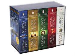 Todos los libros de Juego de Tronos. 5 tomos