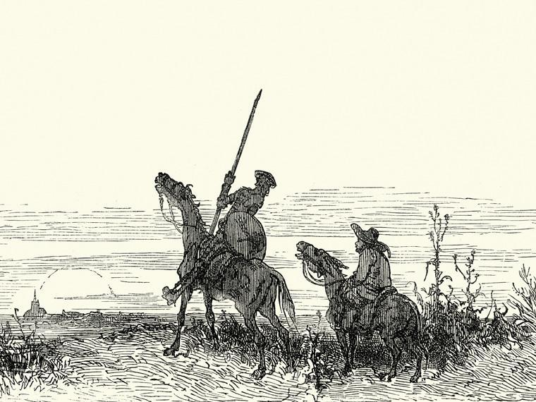 Don Quijote de la Mancha. El personaje literario mas influyente