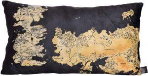 comprar cojin con mapa de Juego de Tronos