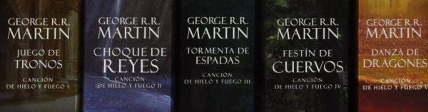 Comprar libros de juego de tronos