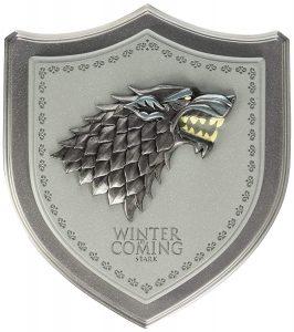 Escudo de los personajes de la Casa Stark