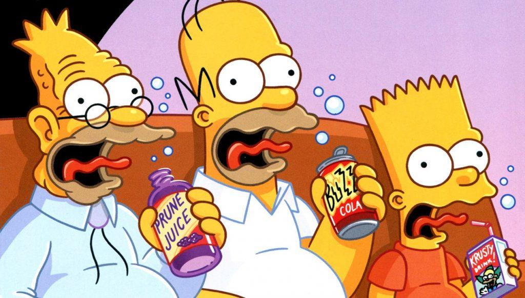 Imágenes de los Simpsons y sus personajes, 3 geenraciones
