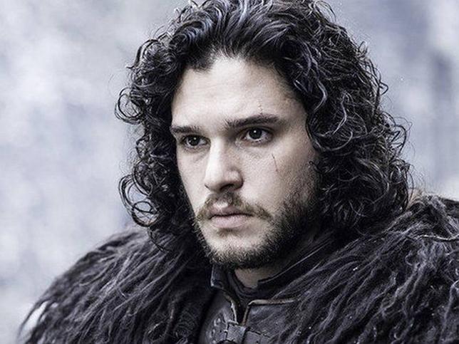 Jon Snow y los personajes de la serie juego de tronos