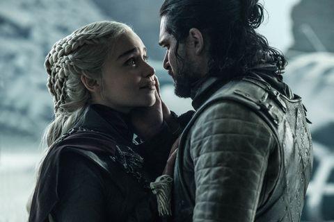 Todos los personajes de Game of Thrones Jon Snow y Daenerys