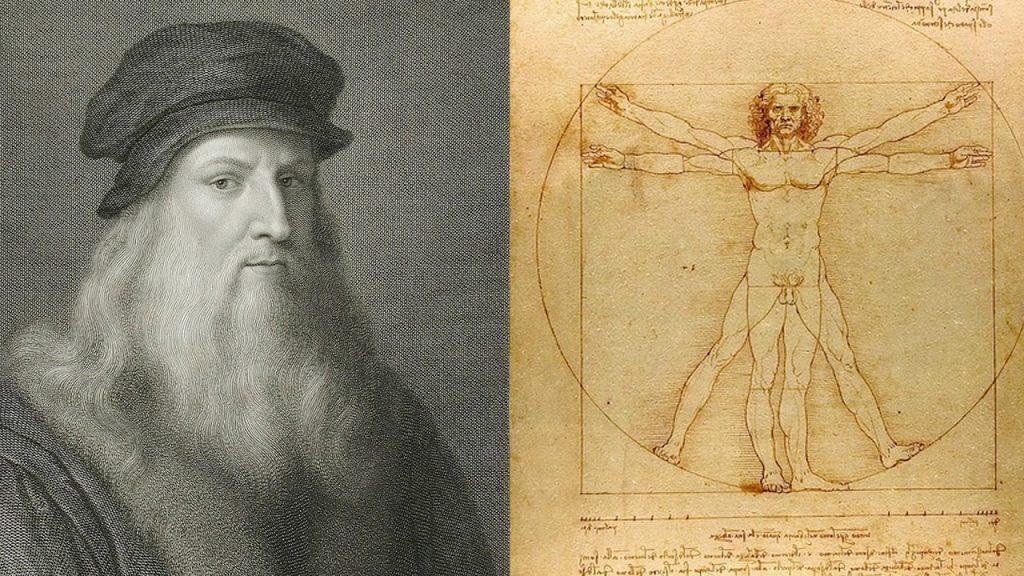 personas de la historia influyentes. Leonardo da Vinci