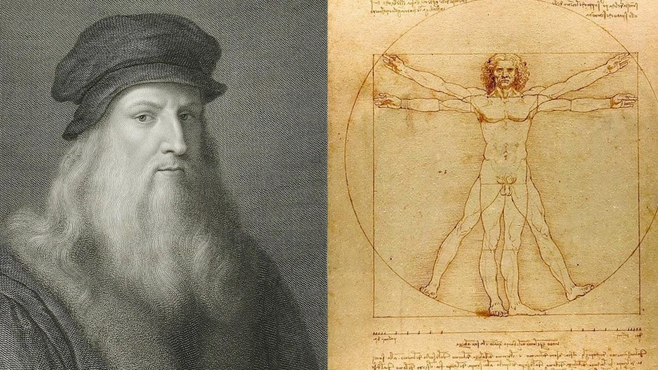 personajes de la historia. Leonardo da Vinci