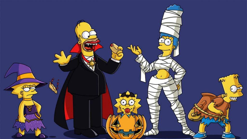 Halloween los Simpsons fotos