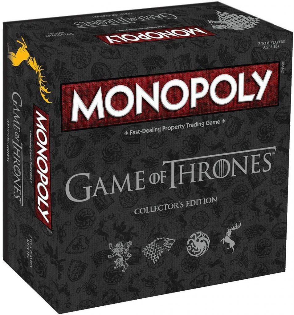 comprar monopoly deluxe de juego de tronos