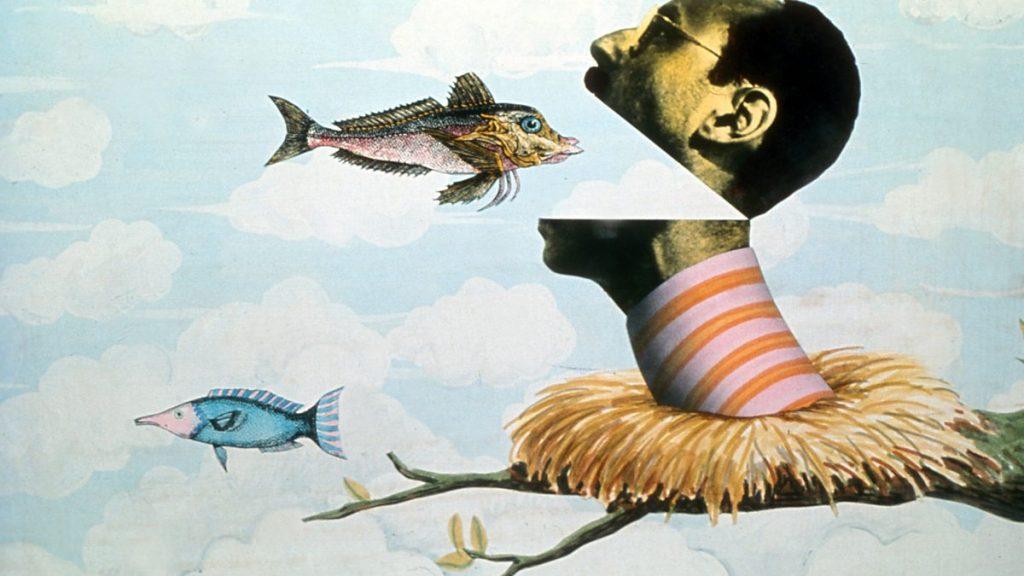 Ilustracion de monty python por terry gilliam