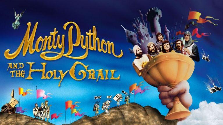 monty python ilustracion el santo grial