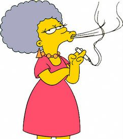 patty bouvier de los simpsons