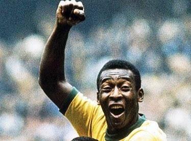Pelé, Protagonistas de la historia del deporte