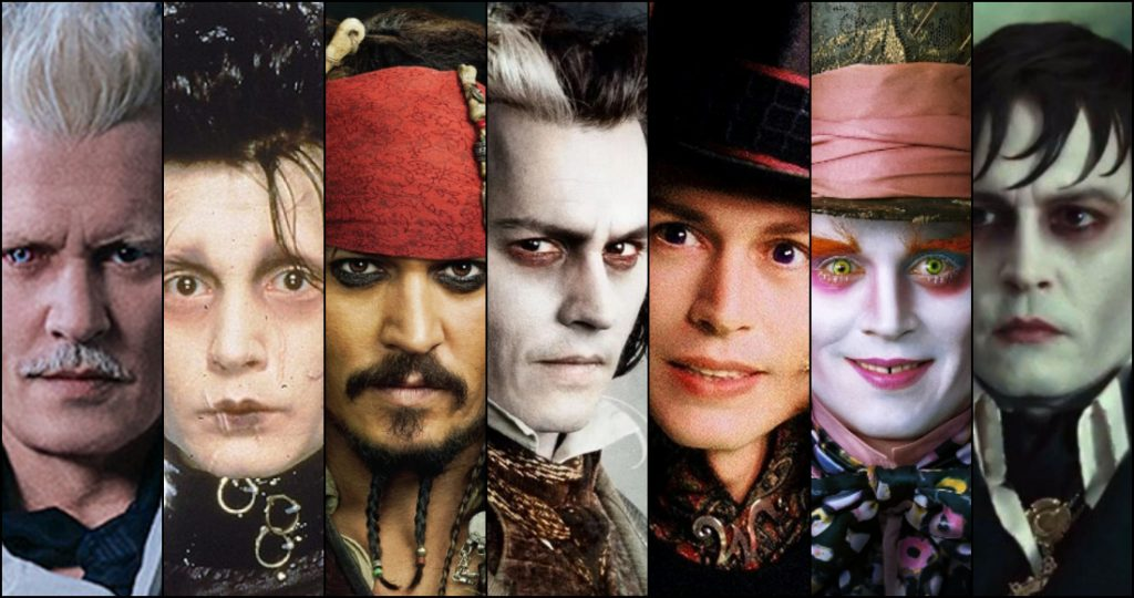Personajes interpretados por Johnny Deep