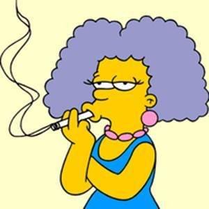 imagen de selma bouvier de los Simpsons