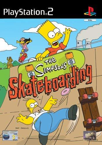 comprar juego skateboarding los simpsons