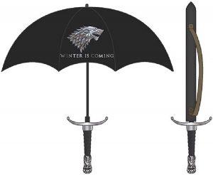 paraguas espada juego de tronos