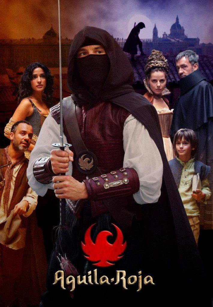 guia de personajes de series españolas, aguila roja