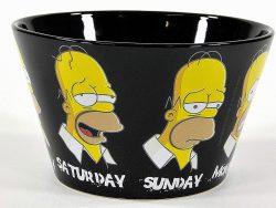 Comprar cuenco para desayuno de Homer Simpson