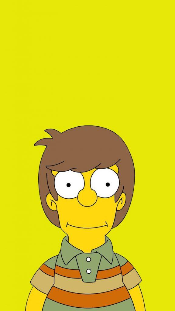 Homer SImpson de niño
