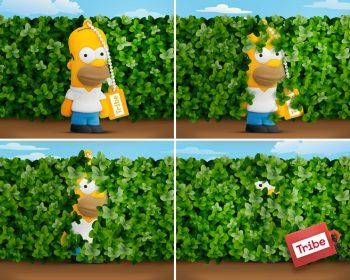 Ver memoria usb de Homer SImpson