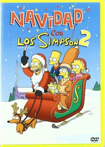 ver navidad con los simpsons 2
