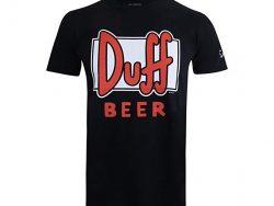 Comprar camiseta Duff beer negra