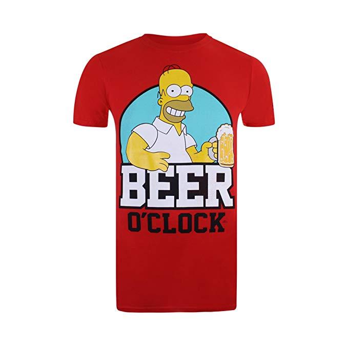 comprar camiseta de la hora de la cerveza de Homer