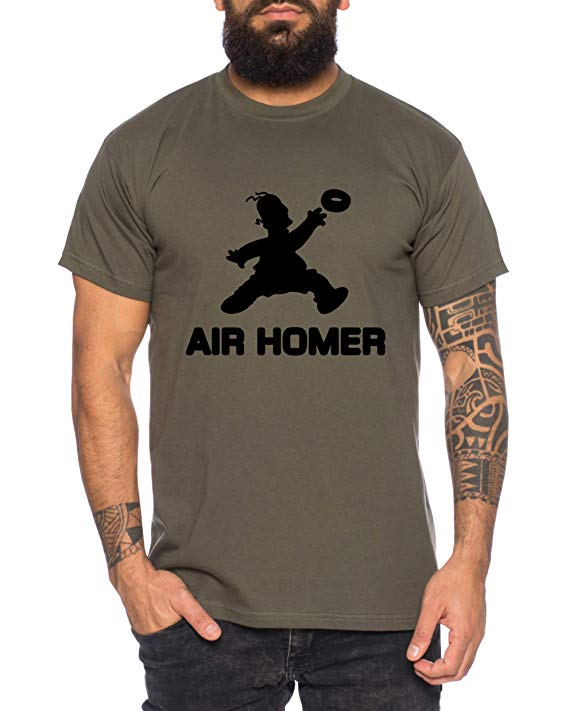 Air Homer Simpson camiseta comprar