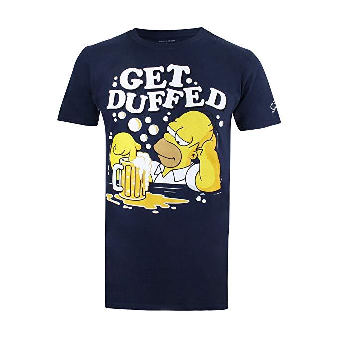 Comprar camiseta Homer Simpson cerveza