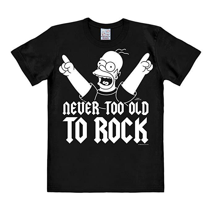 Nunca viejo para el rock Homer SImpson