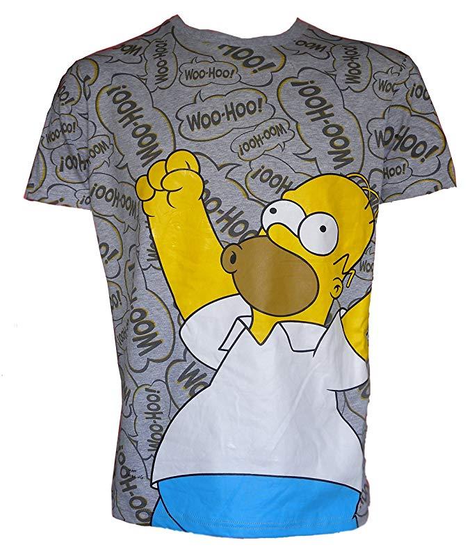 ver woo hoo camiseta de los simpsons