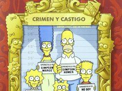 comprar crimen y castigo de los simpsons