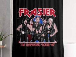 Comprar cortina de baño de Frasier y sus personajes
