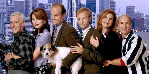 Personajes principales de la serie Frasier