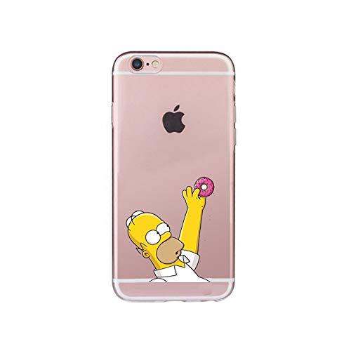 Funda para iPhone Homer Simpson rosquilla