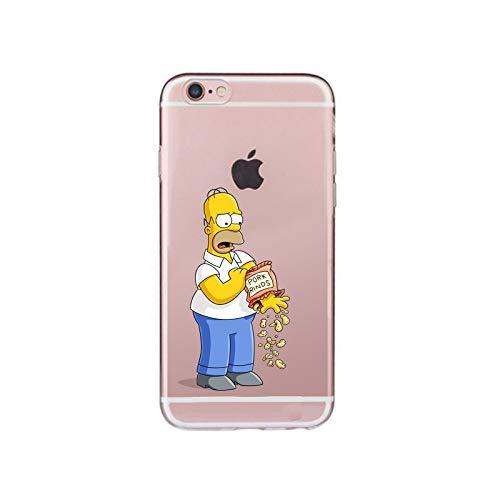 Funda para Iphone XS Homero Simpson