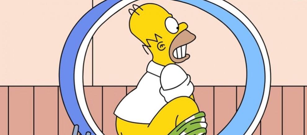Las mejores fotos de Homer Simpson, escenas cotidianas