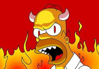Momentos estelares de Homer Simpson, el diablo en persona