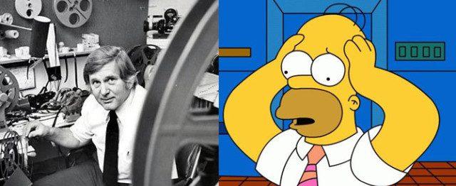 Homer Simpson y Homer Groening