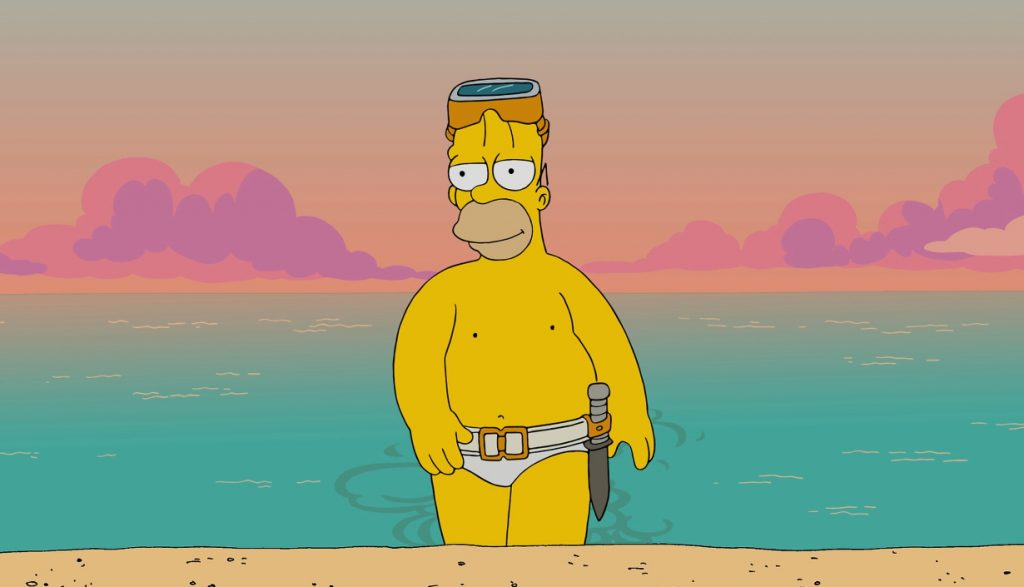 Homer Simpson hombre 10