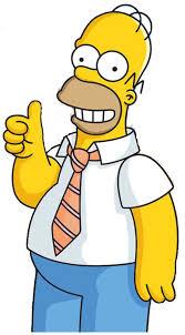 Fotos de Homer Simpson, expresiones cotidianas