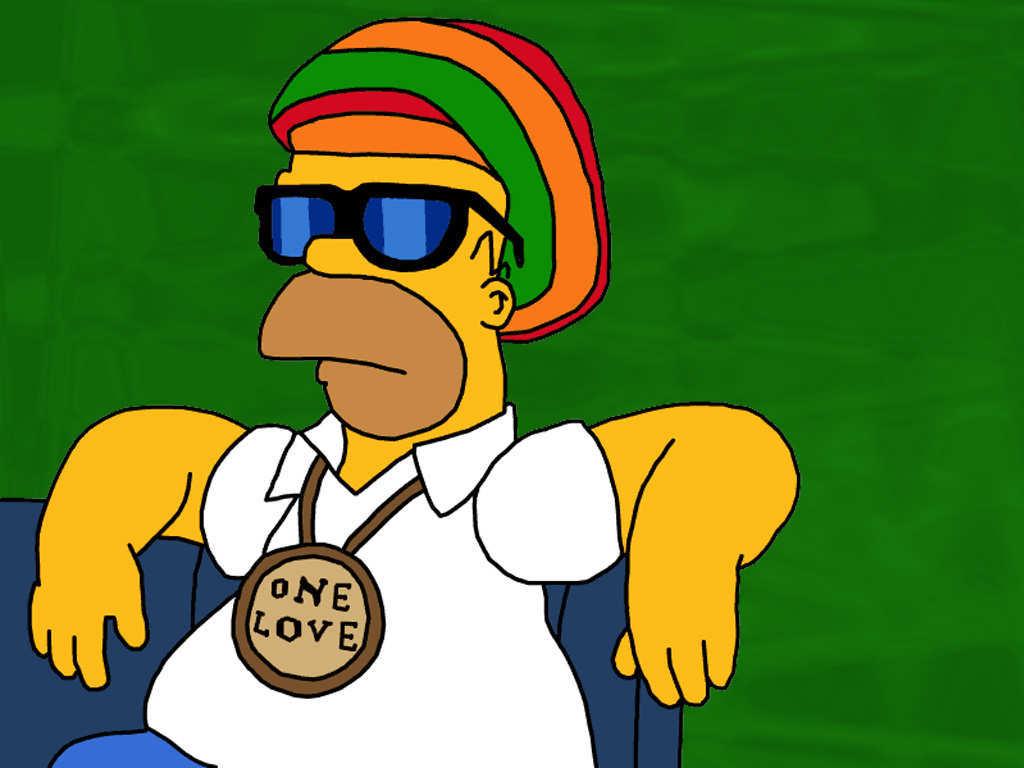 Homer Simpson, rastafari