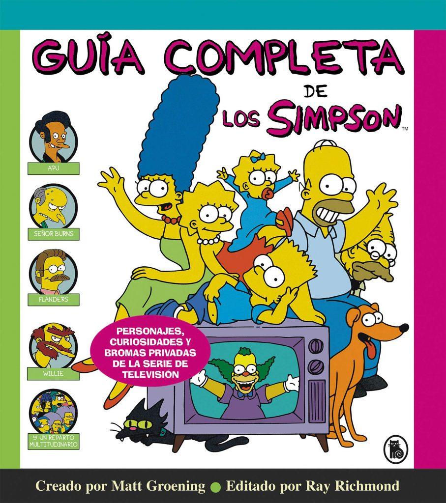 comprar libro guía de los Simpsons y sus personajes