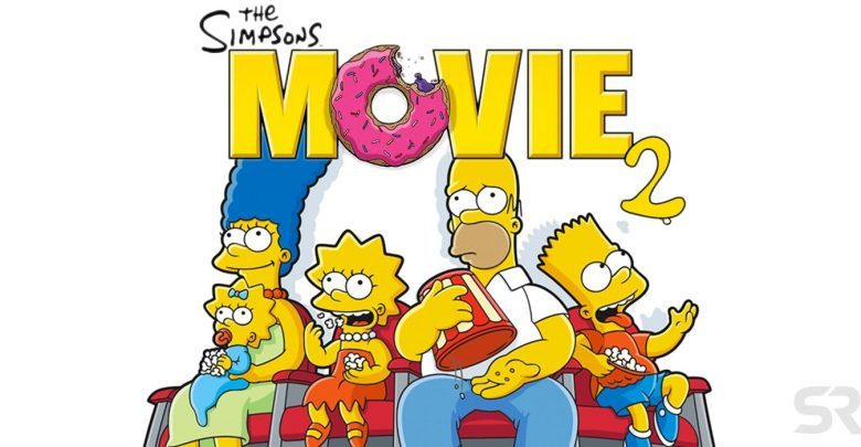 Los Simpsons la Película 2 montaje